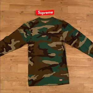 SUPREME camouflaged Thermal Top